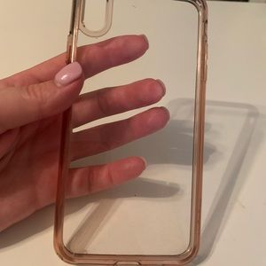 Spigen iPhone XS Max clear phone case